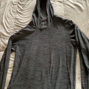 Nike Dri Fit Running Lightweight Hoodie Shirt Sz M